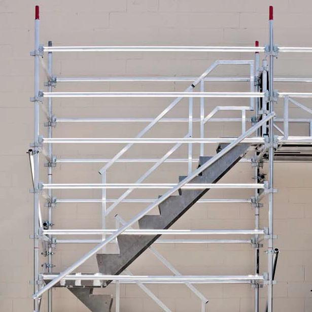 Aluminum Scaffold Stairs : Scaffold quickscaf aluminium access